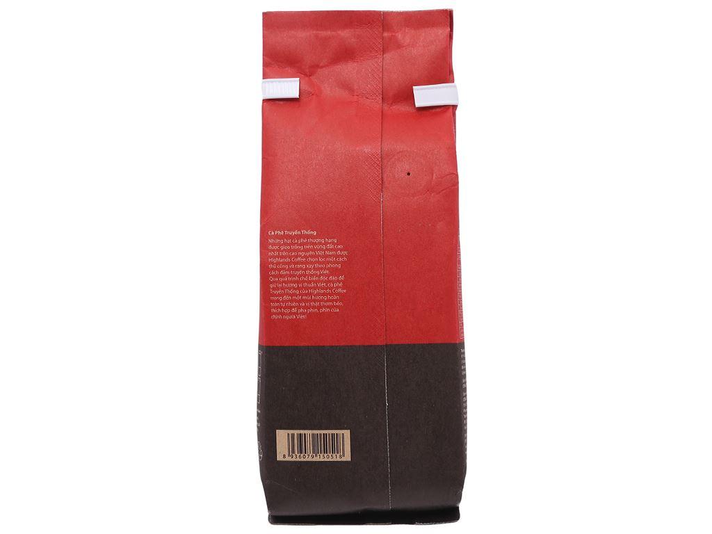 Cà phê Highlands truyền thống 200g 3