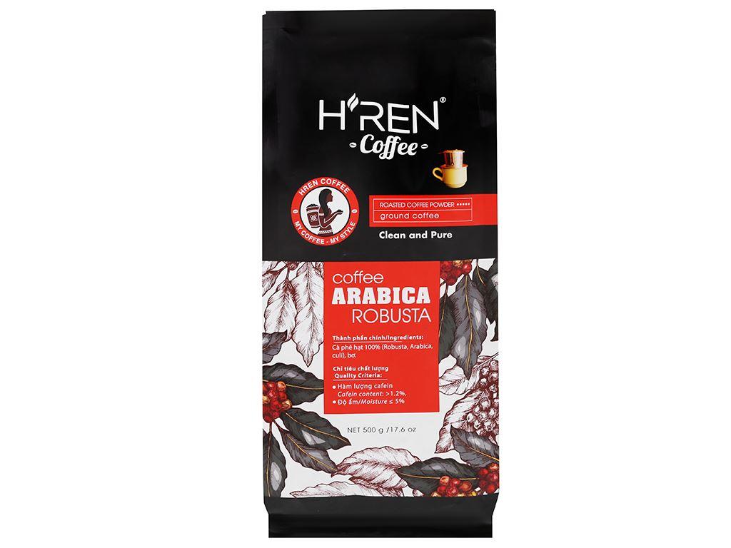 "Cà phê H""ren Arabica Robusta 500g 1"