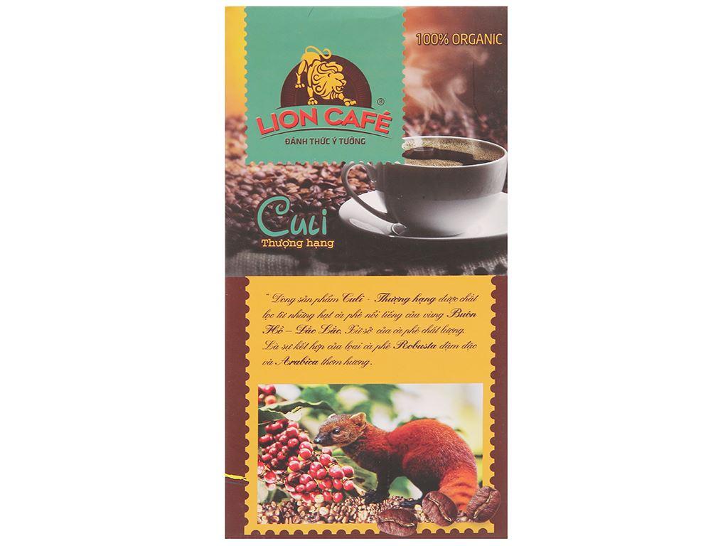 Cà phê Lion Culi thượng hạng 250g 4