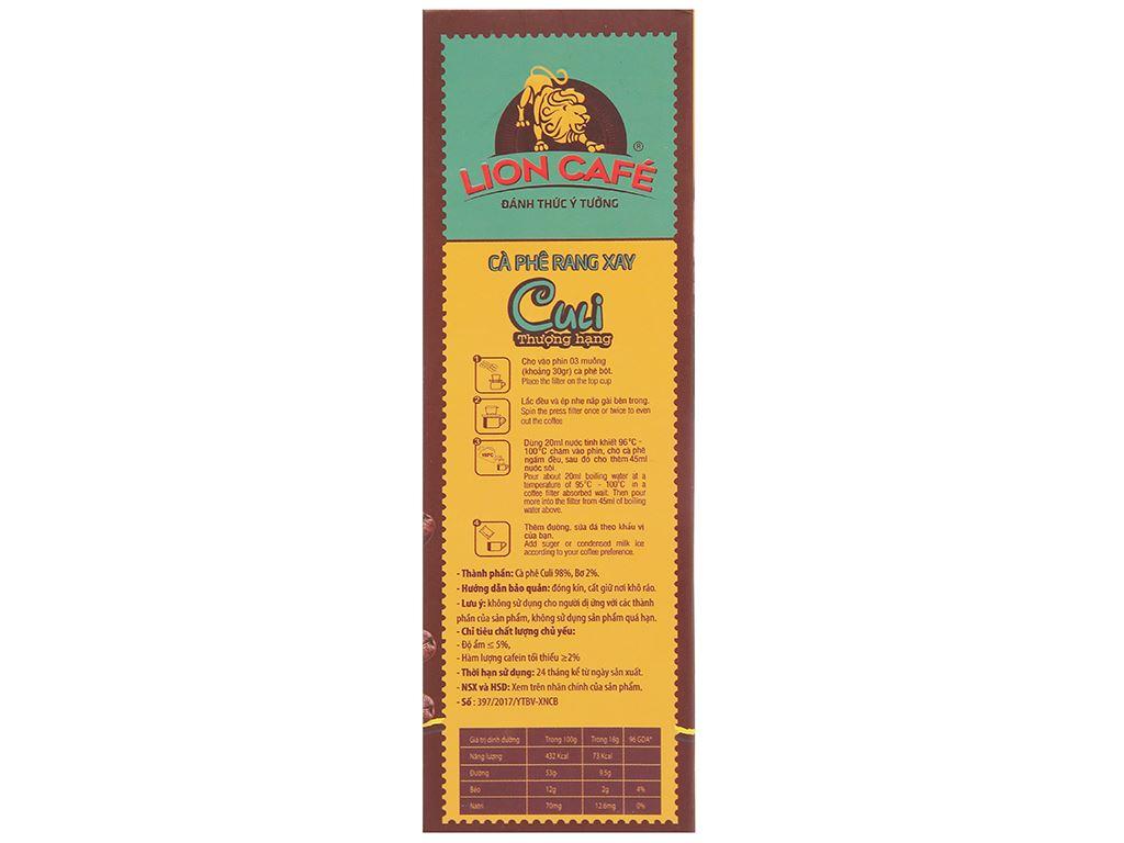 Cà phê Lion Culi thượng hạng 250g 5