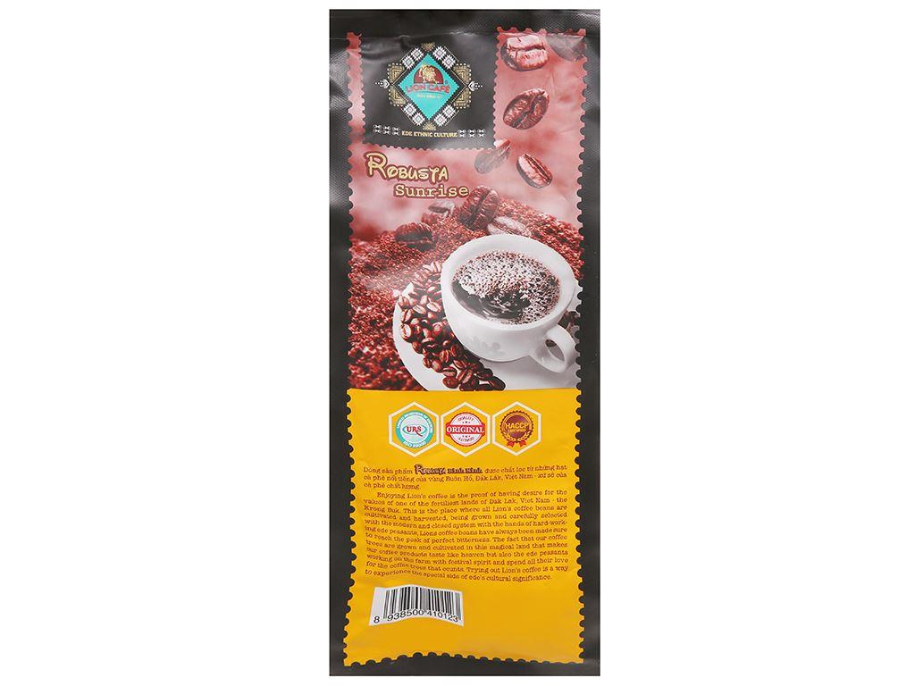 Cà phê Lion Robusta Bình Minh 500g 3