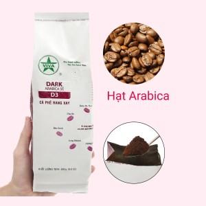 Cà phê rang xay Viva Arabica Sẻ D3 500g