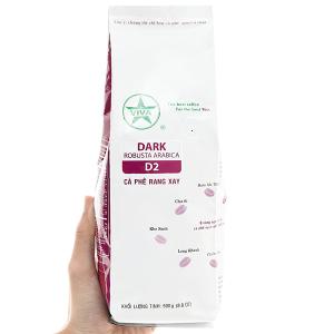 Cà phê rang xay Viva Robusta Arabica D2 500g