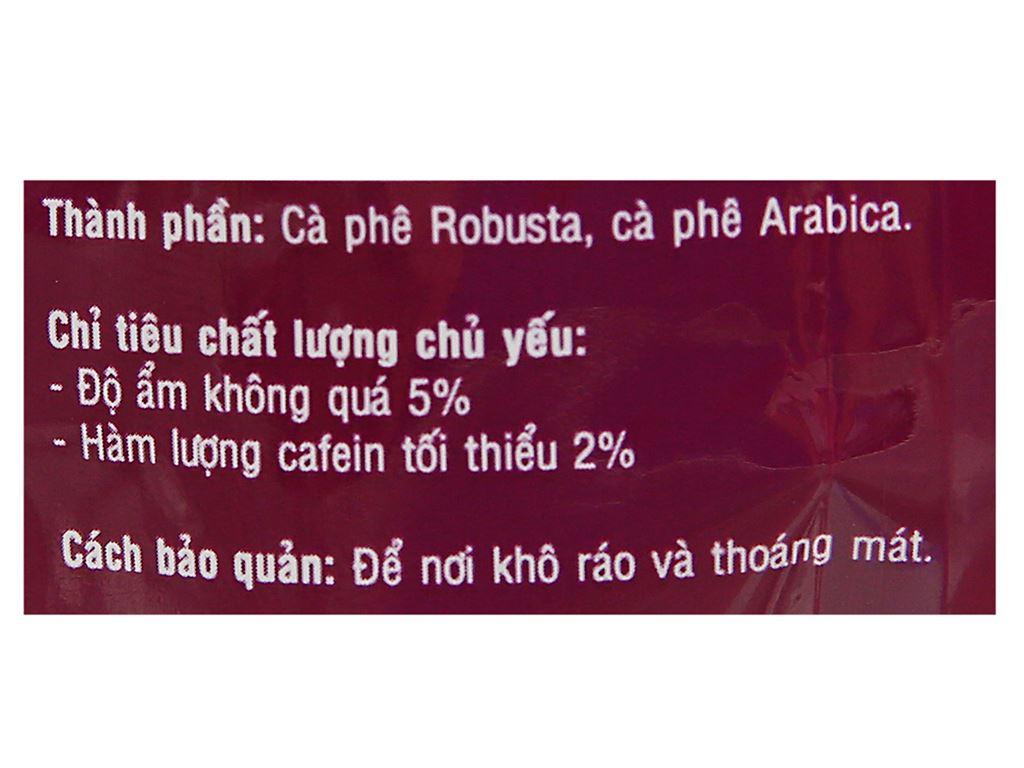 Cà phê rang xay Viva Robusta Arabica D2 500g 5