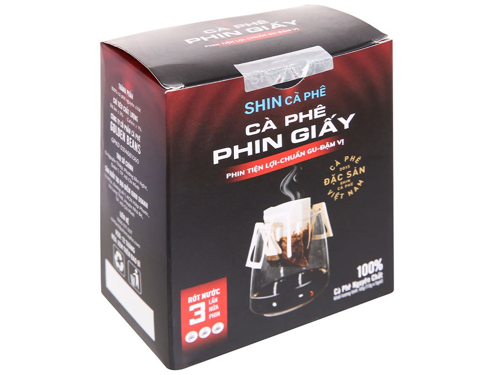 Cà phê phin giấy Shin Coffee 65g 1