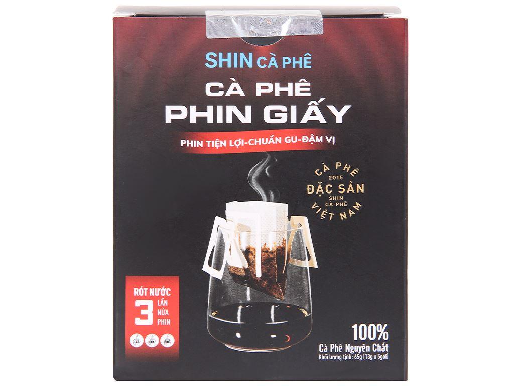 Cà phê phin giấy Shin Coffee 65g 3