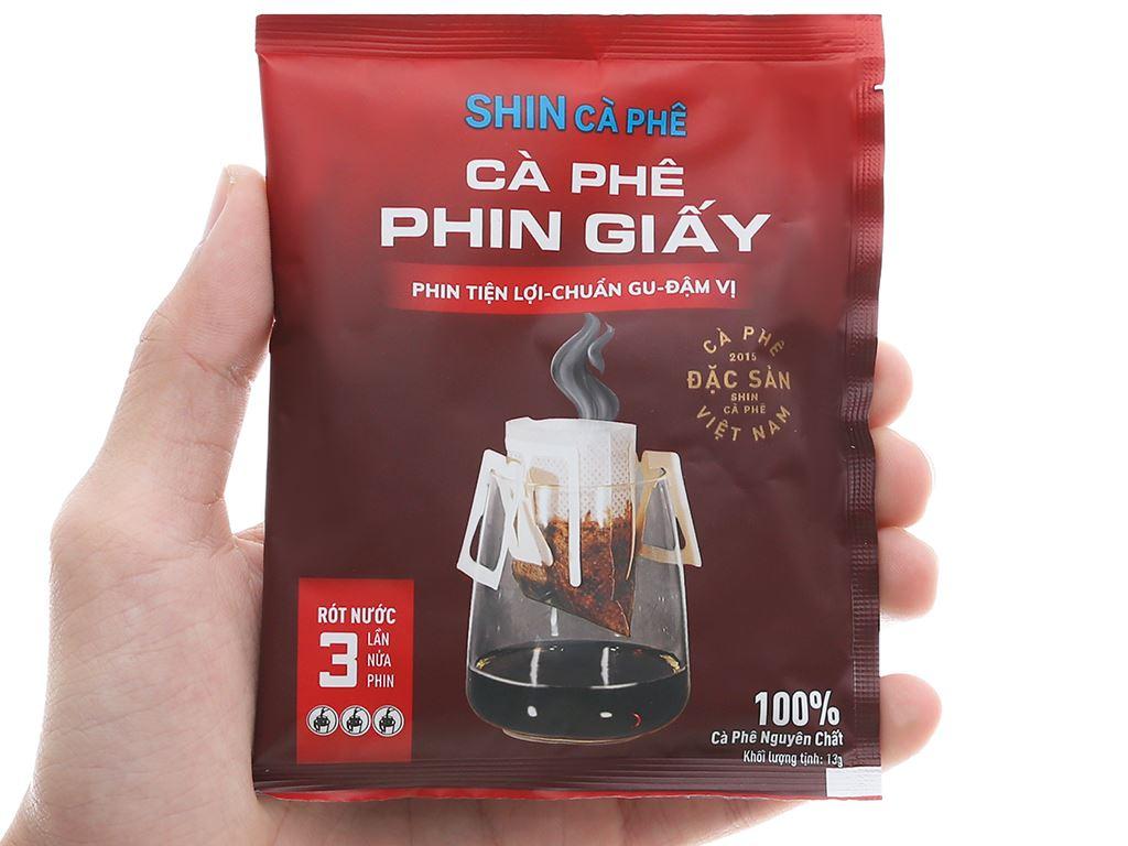 Cà phê phin giấy Shin Coffee 65g 7