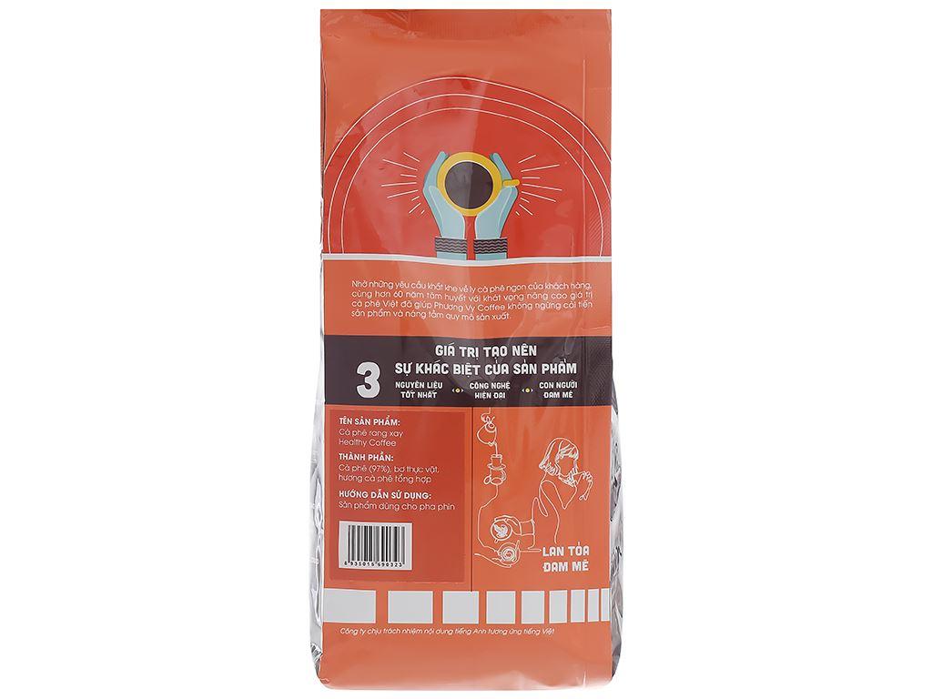 Cà phê rang xay Phương Vy Healthy Coffee gu nguyên chất 500g 2