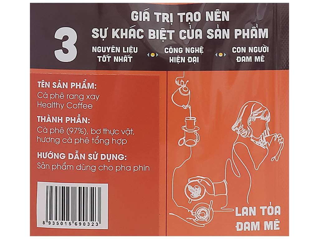 Cà phê rang xay Phương Vy Healthy Coffee gu nguyên chất 500g 5