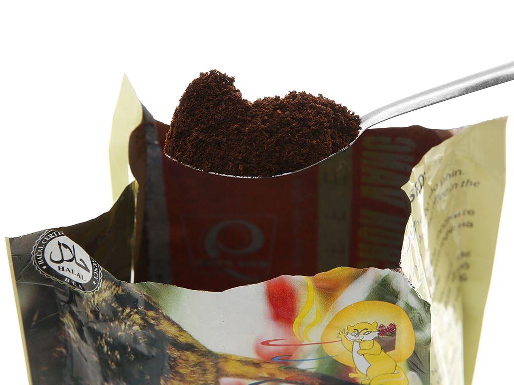 Cà phê rang xay nguyên chất Con chồn vàng Espresso 500g 7