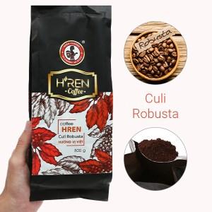 """Cà phê rang xay H""""ren Culi Robusta 500g"""