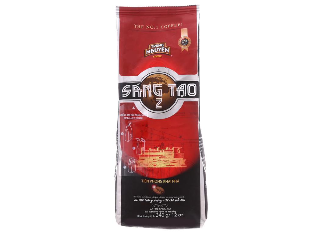 Cà phê Trung Nguyên Sáng tạo số 2 gói 340g 1
