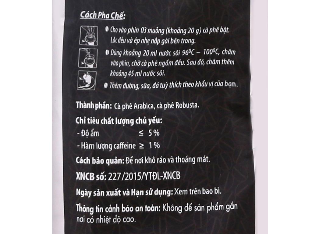 Cà phê Trung Nguyên Sáng tạo số 2 gói 340g 12