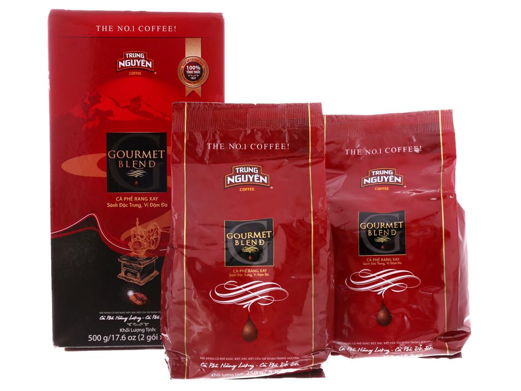 Cà phê Trung Nguyên Gourmet Blend hộp 500g 2