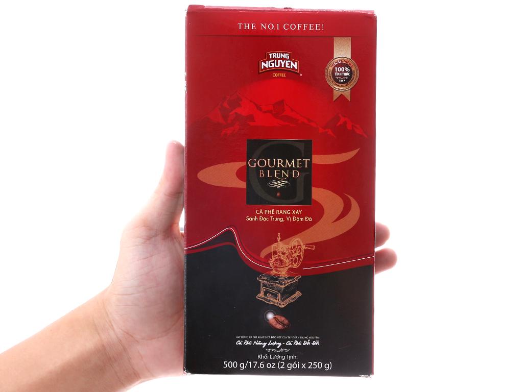 Cà phê Trung Nguyên Gourmet Blend hộp 500g 5
