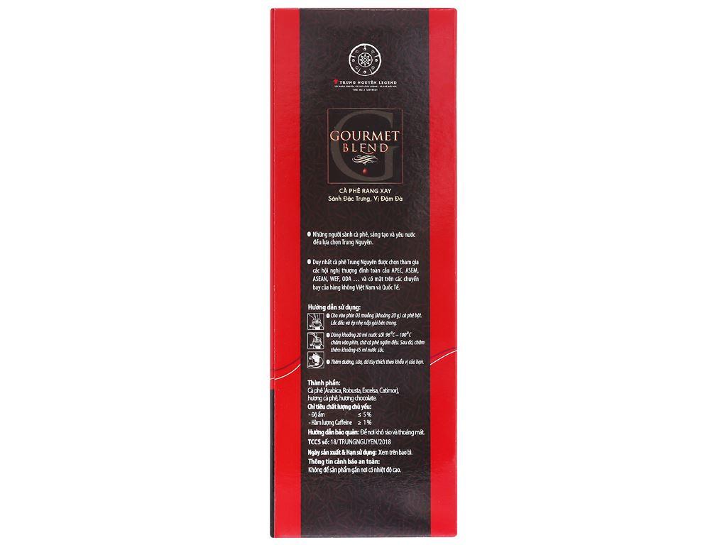 Cà phê Trung Nguyên Gourmet Blend 500g 9