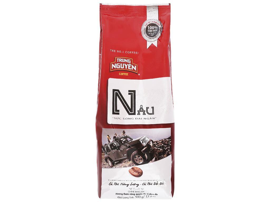 Cà phê Trung Nguyên Nâu 500g 4