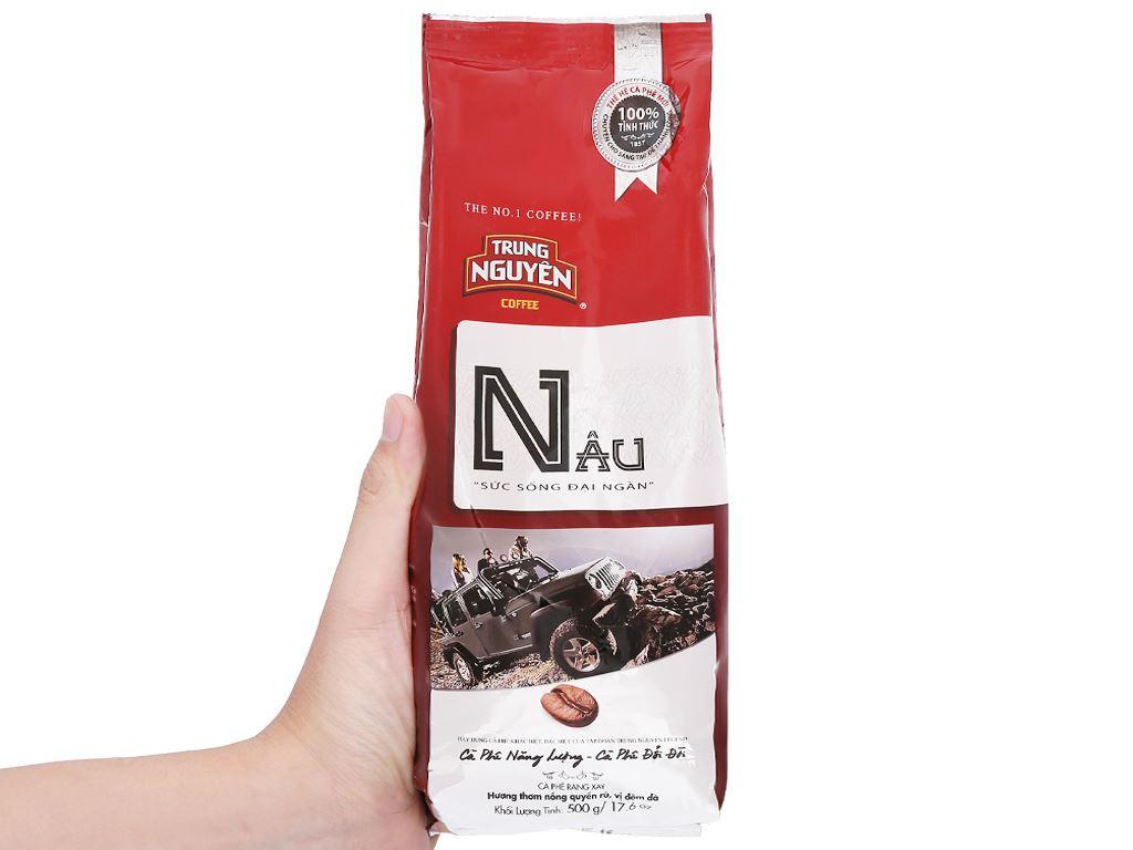Cà phê Trung Nguyên Nâu 500g 10