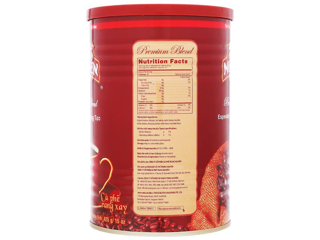 Cà phê Trung Nguyên Premium Blend 425g 11