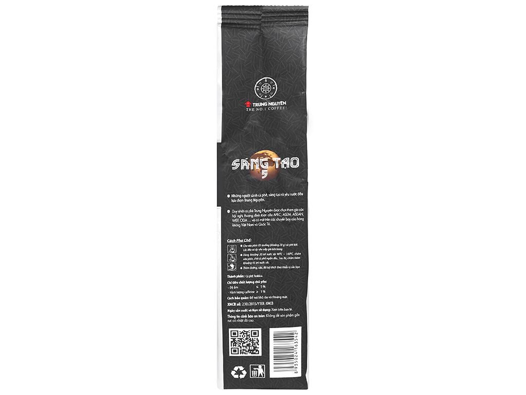 Cà phê Trung Nguyên sáng tạo 5 340g 8