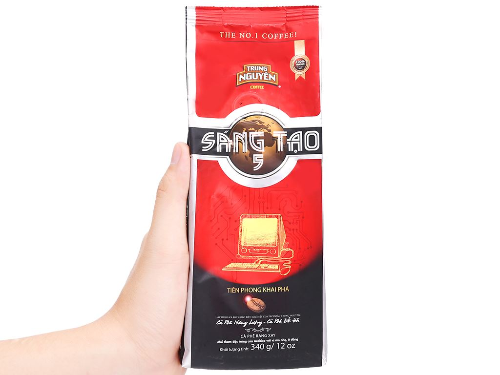 Cà phê Trung Nguyên sáng tạo 5 340g 10