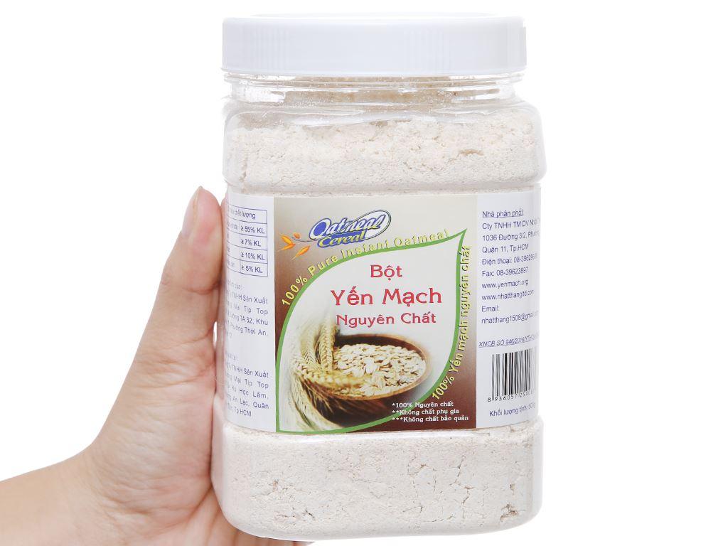 Bột yến mạch nguyên chất Oatmeal Cereal hộp 500g 4