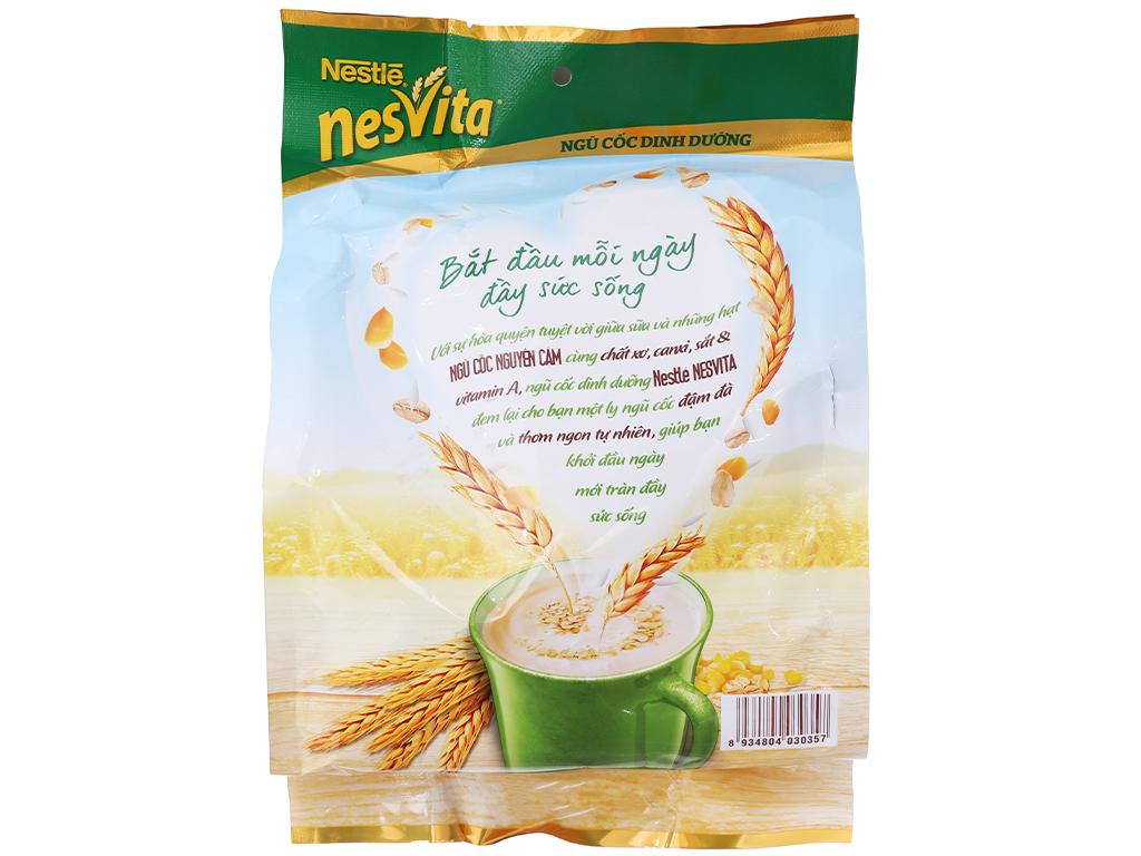 Ngũ cốc dinh dưỡng Nestlé Nesvita bổ sung canxi bịch 400g 3