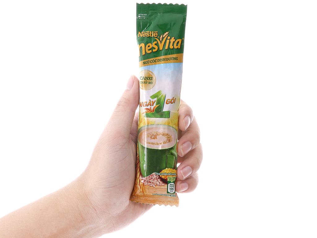 Ngũ cốc dinh dưỡng Nestlé Nesvita bổ sung canxi bịch 400g 5