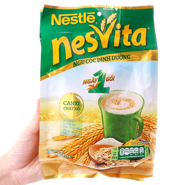 Ngũ cốc dinh dưỡng Nestlé Nesvita bổ sung canxi bịch 400g