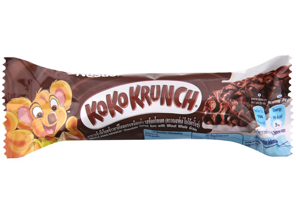 Ngũ cốc Nestle Koko Krunch thanh 25g 2