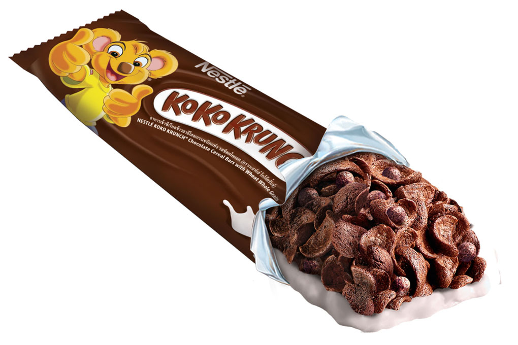 Ngũ cốc Nestlé Koko Krunch Bar vị socola hộp 400g 4