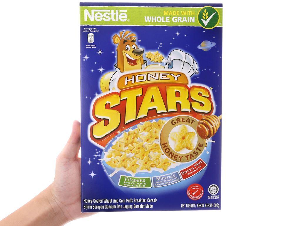 Ngũ cốc Nestlé Honey Stars hộp 300g 5
