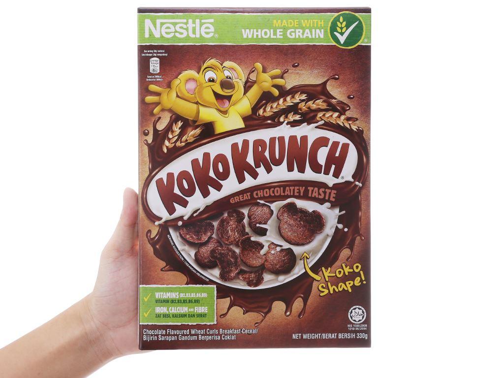 Ngũ cốc Nestlé Koko Krunch vị socola hộp 330g 5