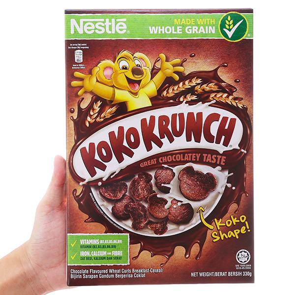 Ngũ cốc Nestlé Koko Krunch vị socola hộp 330g