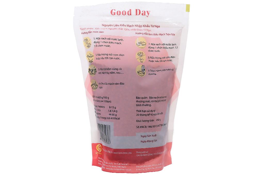 Kiều mạch Good Day 450g
