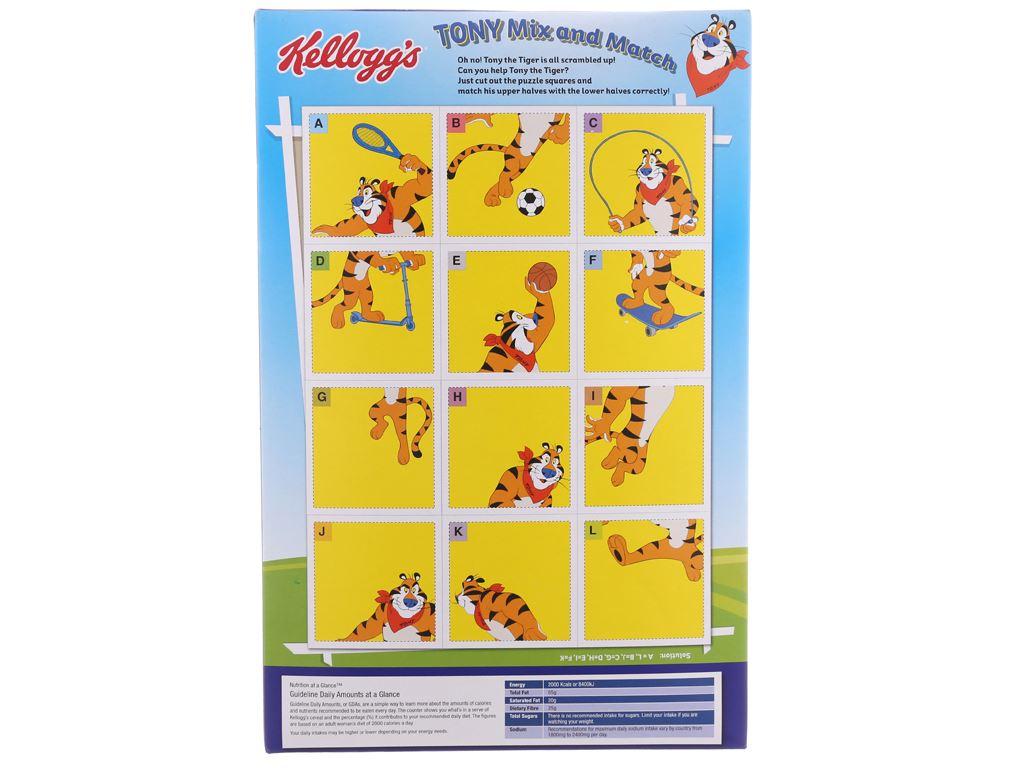 Ngũ cốc Kellogg's Frosties vị bắp hộp 300g 3