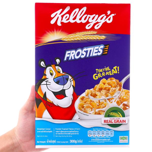 Ngũ cốc Kellogg's Frosties vị bắp hộp 300g