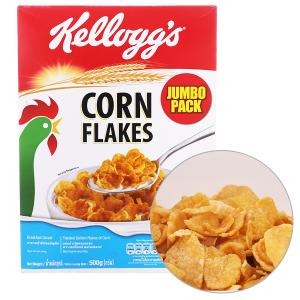Ngũ cốc Kellogg's Corn Flakes vị bắp hộp 500g