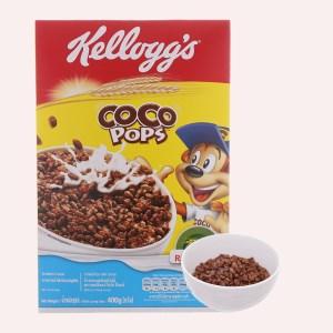 Ngũ cốc Kellogg's Coco Pops vị socola hộp 400g