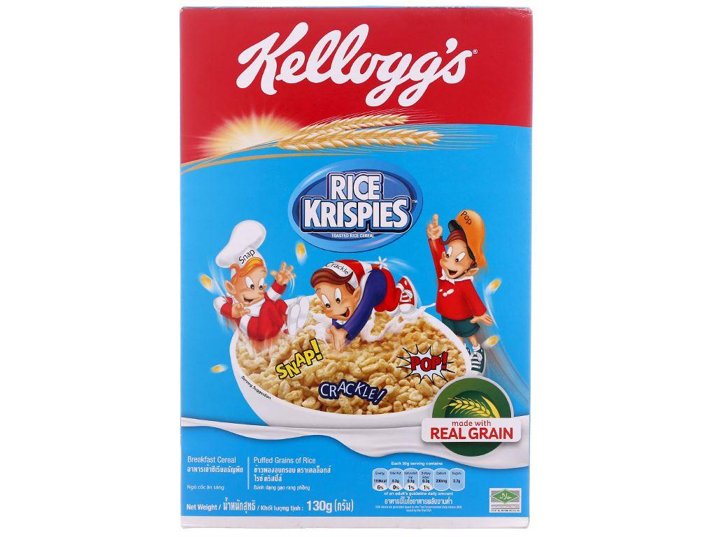 Ngũ cốc Kellogg's Rice Krispies hộp 130g 2
