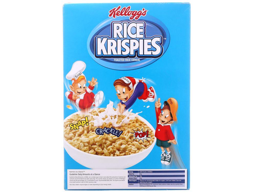 Ngũ cốc Kellogg's Rice Krispies hộp 130g 3