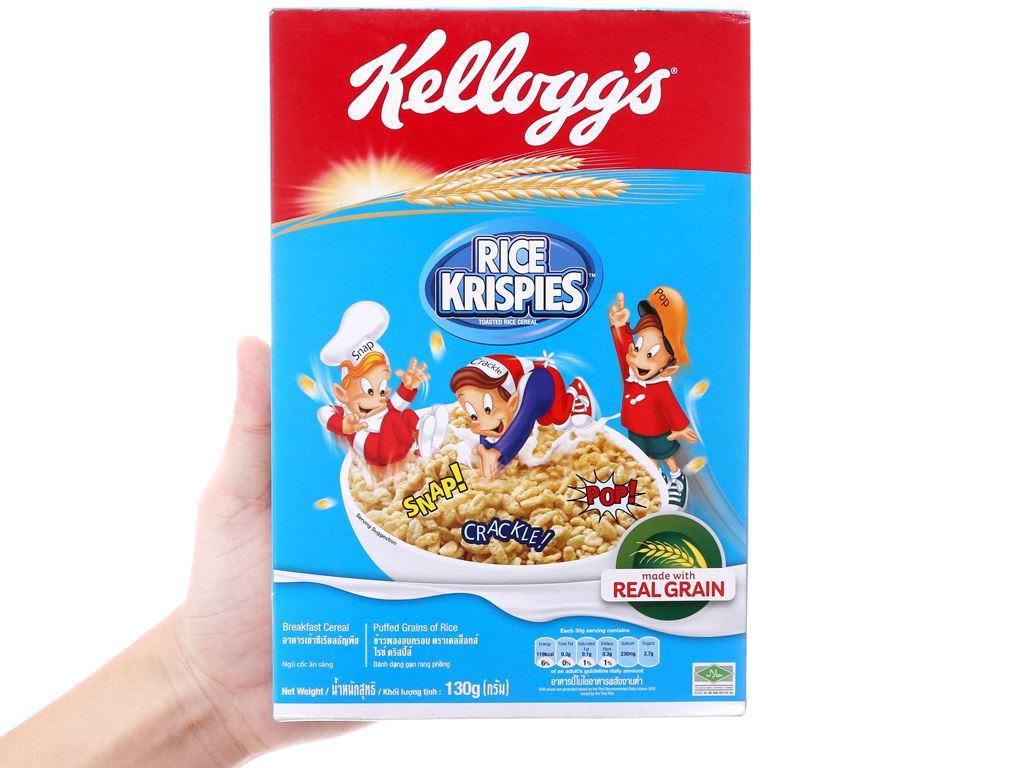 Ngũ cốc Kellogg's Rice Krispies hộp 130g 5