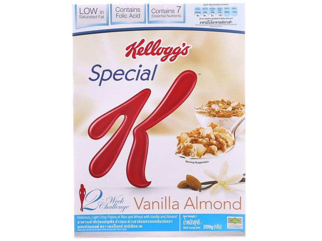 Ngũ cốc Kellogg's Special K Vanilla Almond hộp 209g 2