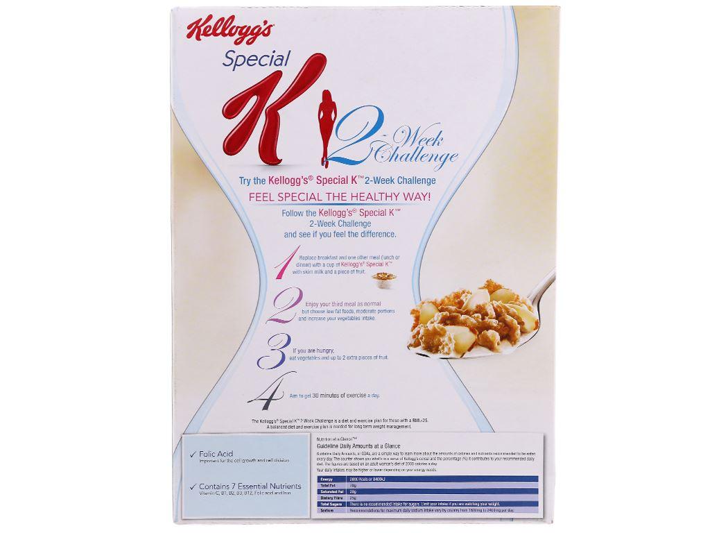 Ngũ cốc Kellogg's Special K Vanilla Almond hộp 209g 3