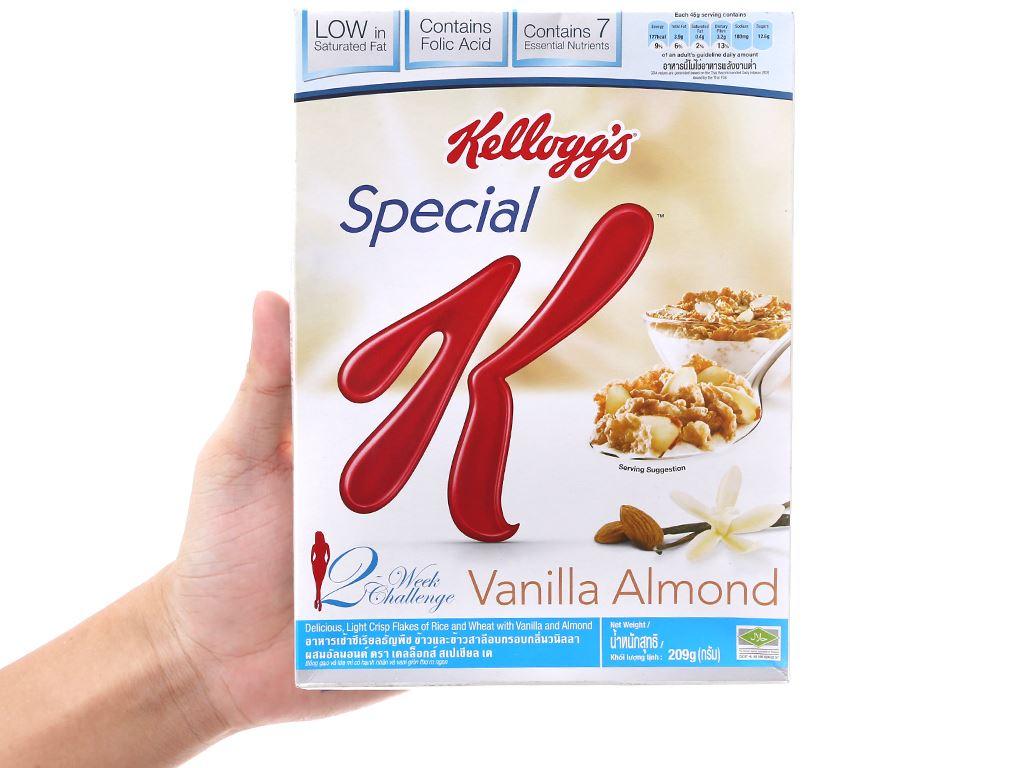 Ngũ cốc Kellogg's Special K Vanilla Almond hộp 209g 5