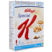 Ngũ cốc dinh dưỡng Kellogg's Special K Vanilla và Almonds 209g