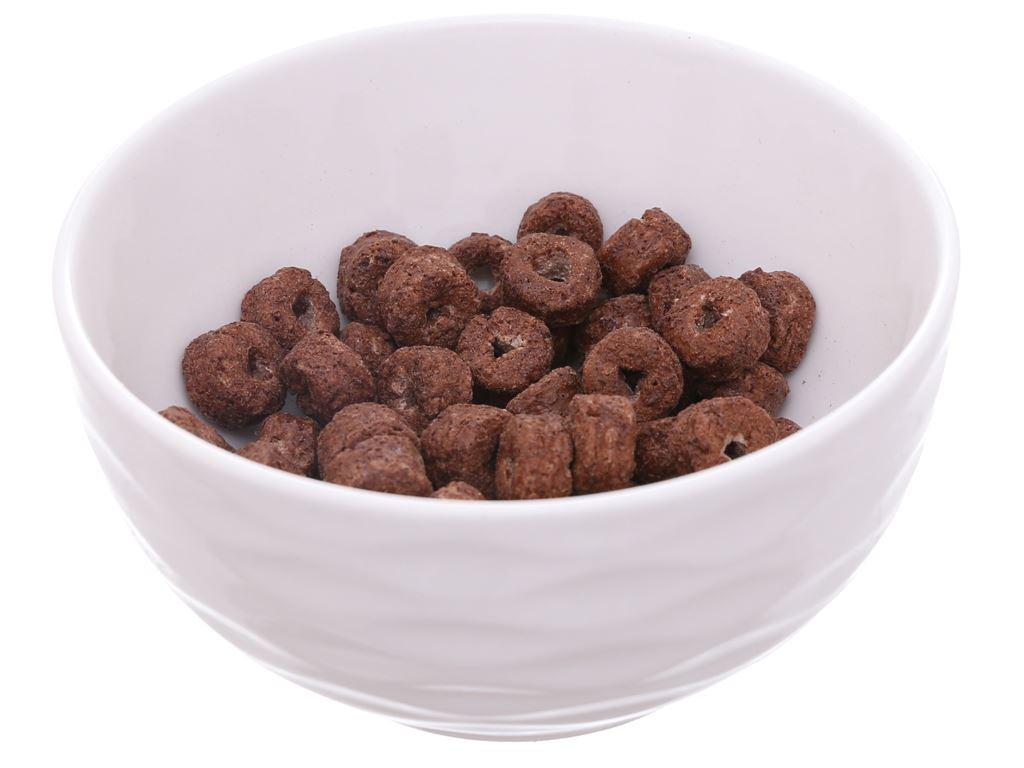 Ngũ cốc Kellogg's Coco Loops vị socola hộp 330g 4