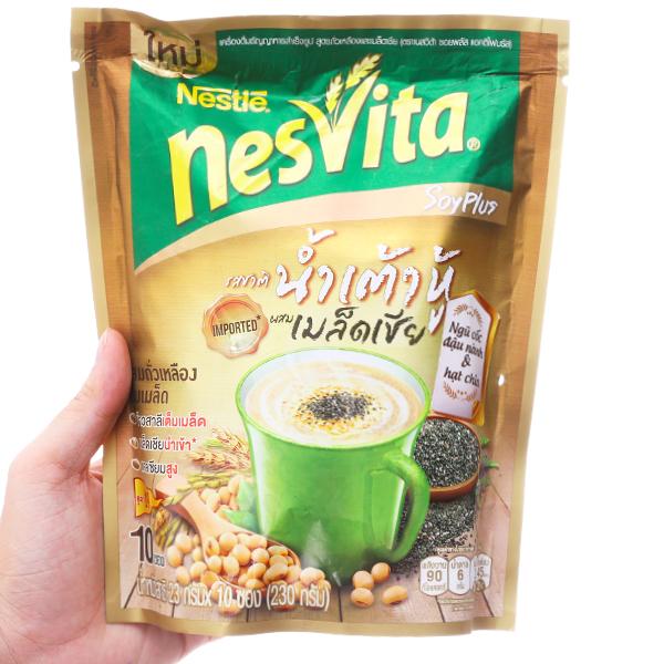 Ngũ cốc dinh dưỡng Nesvita Đậu nành và hạt chia bịch 230g