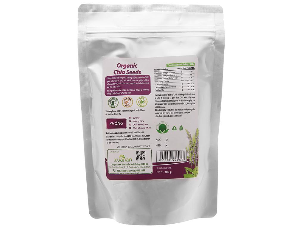 Hạt chia Organic Xuân An bịch 300g 2