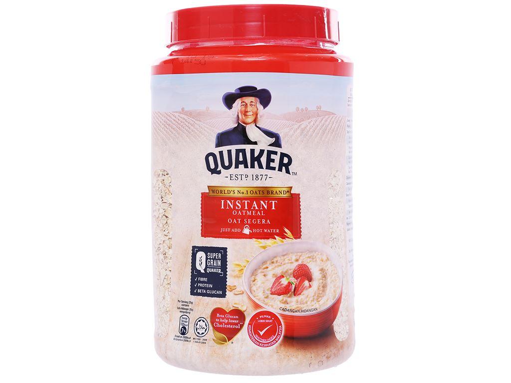 Yến mạch ăn liền Quaker hộp 600g 1